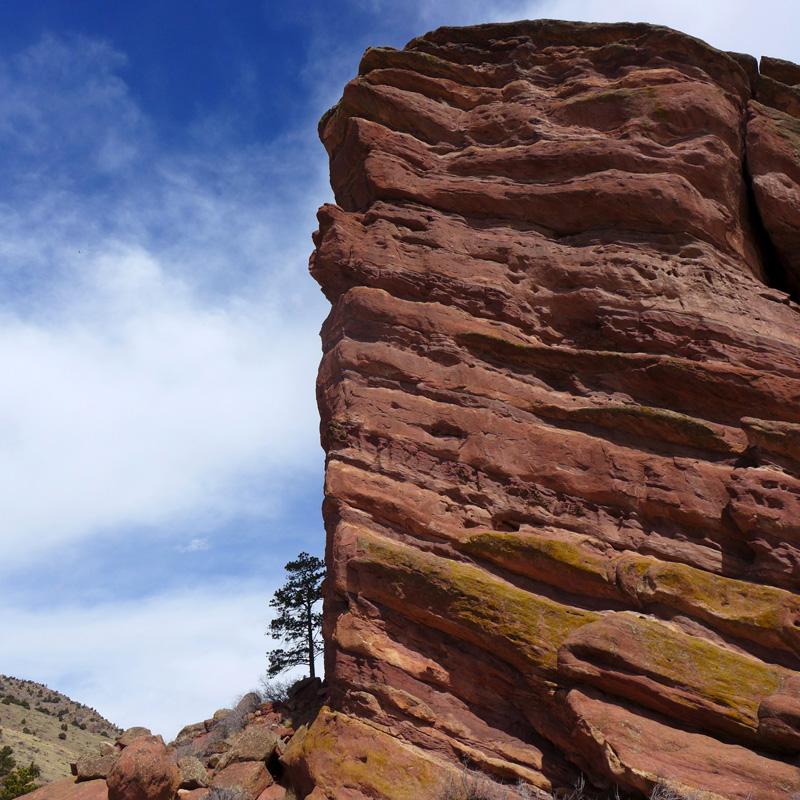 Red Rocks west of Denver